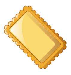 lasagne icon cartoon style vector image
