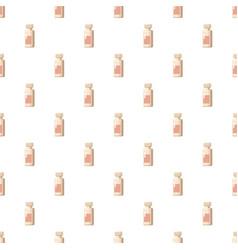 medicine bottle pattern vector image