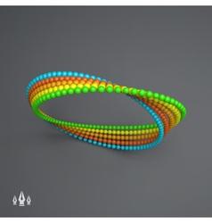 Mobius strip variation infinity sign moebius loop vector