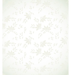 Silver floral background vector