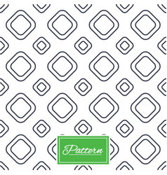 Square tiles seamless pattern vector