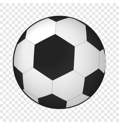 Soccer ball isometric 3d icon vector image