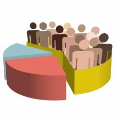 diverse group of people vector image