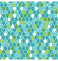 Multicolor raindrops seamless pattern vector image vector image