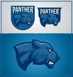Panther mascot vector