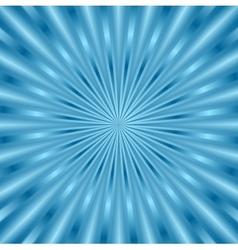 Blue glowing beams background vector image vector image