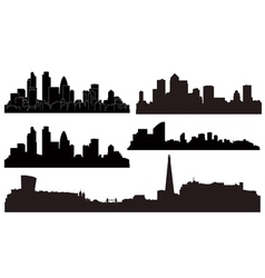 city london vector image vector image