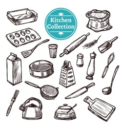 Baking Stuff Set vector