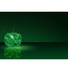 Emerald Card vector