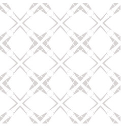 subtle grid seamless abstract pattern vector image