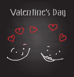 Valentines symbol love vector