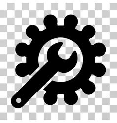 Wrench And Gear Customization Tools Icon vector