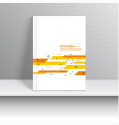 cover for journal vector image vector image