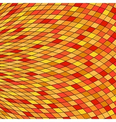 Orange Yellow Abstract Background eps10 vector image vector image
