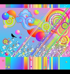 Peter Max vector image vector image