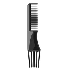 barber professional hair comb vector image