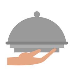 Fine chef restaurant food vector