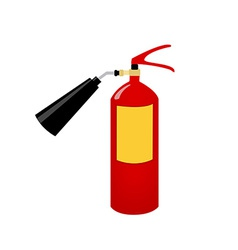 Fire extinguisher vector