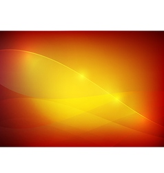 Gradient red and yellow abstract background vector