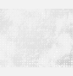 gray dotted background with stains vector image