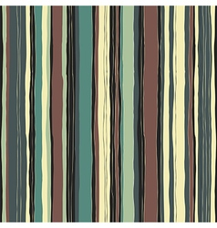 retro colors stripes seamless pattern vector image