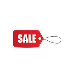 Sale tag label vector