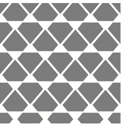 seamless grey and white inverted diamonds pattern vector image