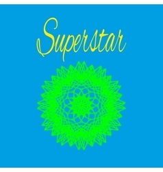 T shirt superstar vector