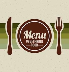 Vegetarian food vector
