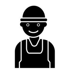 labor man - worker - builder icon vector image