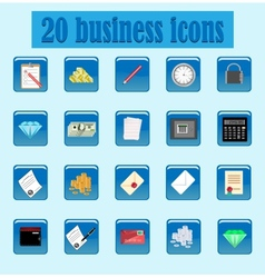 icon business vector image vector image