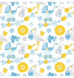 baboy seamless pattern vector image