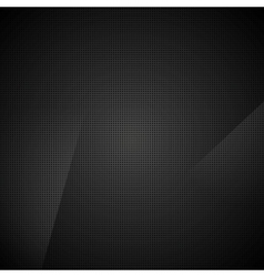 Black abstract dotted texture background vector image