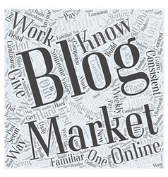 Blog Marketing Online What You Should Know Word vector