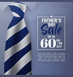 Fathers day sale promotion banner vector