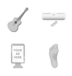 medicine business concert and other monochrome vector image