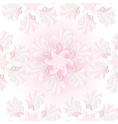 pastel pink seamless pattern vector image vector image