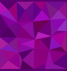 Triangle mosaic pattern background - polygon from vector