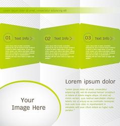 Brochure Templates Design vector image