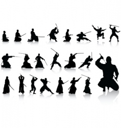 fighter collection vector image