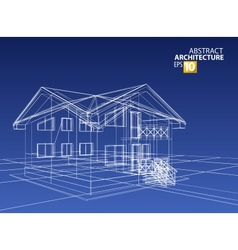 3d home vector image