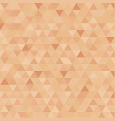 abstract triangle censor skin color background vector image