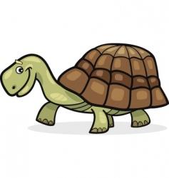 cheerful turtle vector image