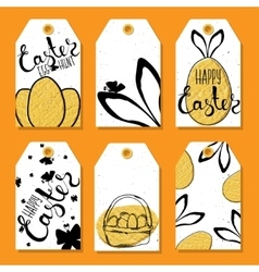 Colorful collection of printable tags and labels vector