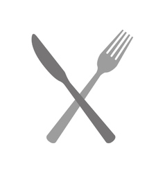cutlery icon image vector image