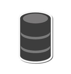 Data center web hosting design vector