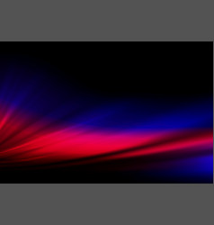 red blue dark graceful background with smooth vector image