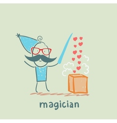 magician vector image vector image