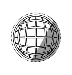Global online connection vector