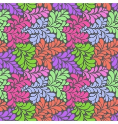 olorful abstract seamless pattern vector image vector image